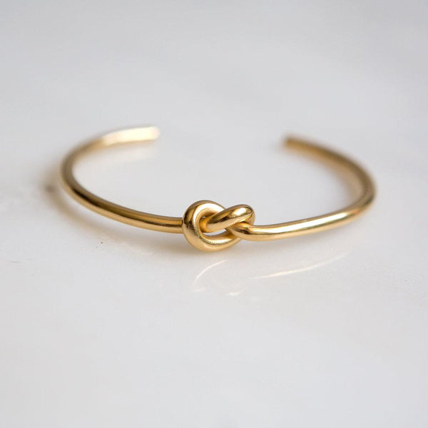 Knot Cuff Bracelet - Wynter Bloom