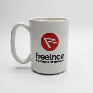Freelance 15oz Ceramic Mug