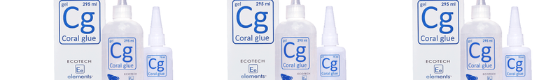 Coral/Rock Glues