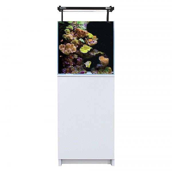 Aqua One Mini Reef 90 Aquarium and Cabinet (White)-Aquariums-Lincs Aquatics Ltd