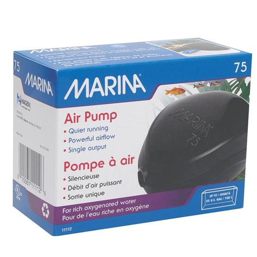 Marina 75 Air Pump-Aeration-Lincs Aquatics Ltd