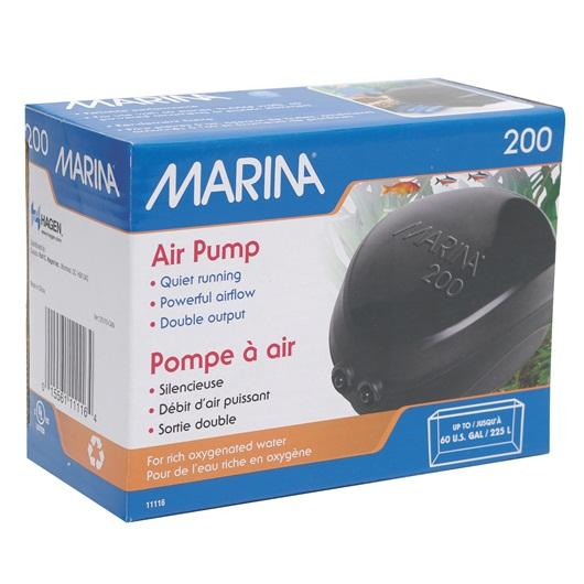 Marina 200 Air pump-Aeration-Lincs Aquatics Ltd