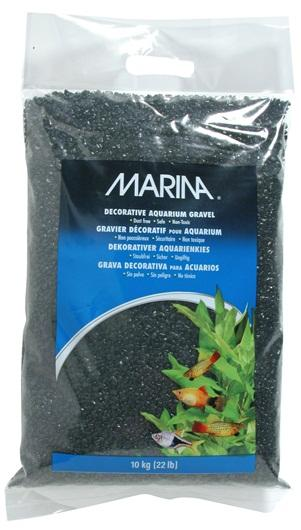 Marina Black Decorative Aquarium Gravel 10kg-Substrates-Lincs Aquatics Ltd
