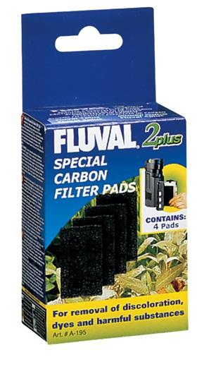 Fluval 2 Plus Special Carbon Pads-Internal Filters-Lincs Aquatics Ltd