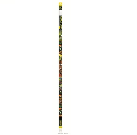 "Exo Terra Fluorescent Bulb Natural Light Tube 36w 48""-Exo terra UV Tubes-Lincs Aquatics Ltd"