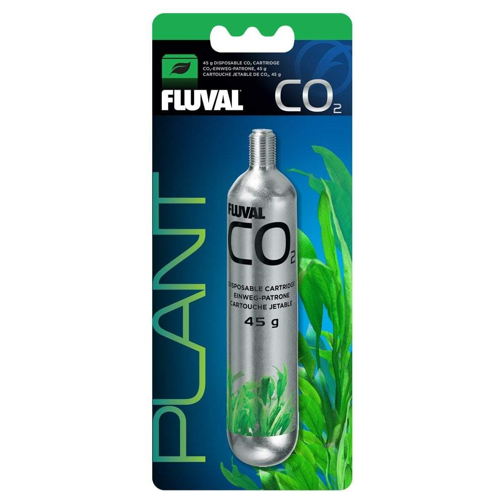 Fluval 45 g CO2 Disposable Cartridge - 1 pack-CO2-Lincs Aquatics Ltd