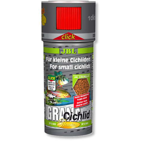 JBL Grana Cichlid CLICK-Dried Food-Lincs Aquatics Ltd