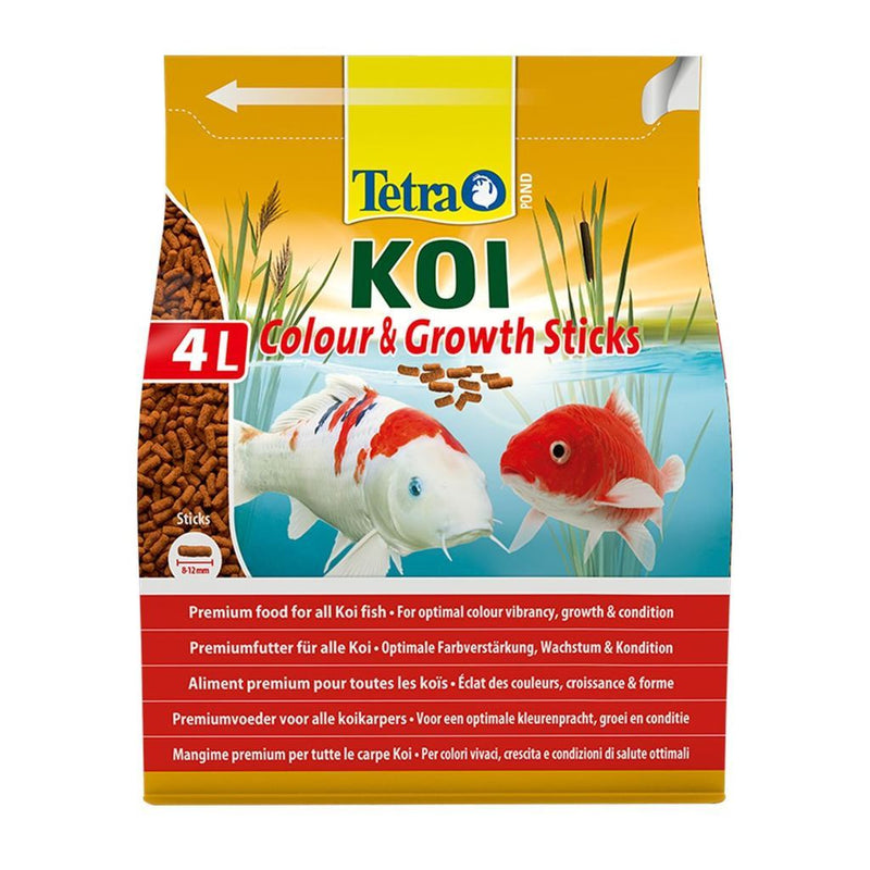 Tetra Koi Sticks Colour and Growth 4 Litre-Tetra Pond Food-Lincs Aquatics Ltd