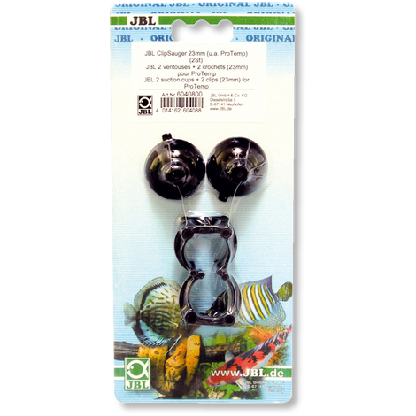 JBL suction cup with clip, 23 mm