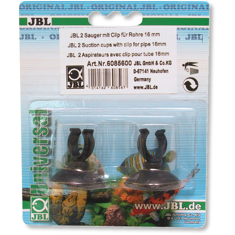 JBL suction cup with clip, 16 mm-Pipework-Lincs Aquatics Ltd