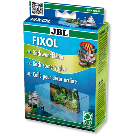 JBL FIXOL Background Adhesive-Backgrounds-Lincs Aquatics Ltd
