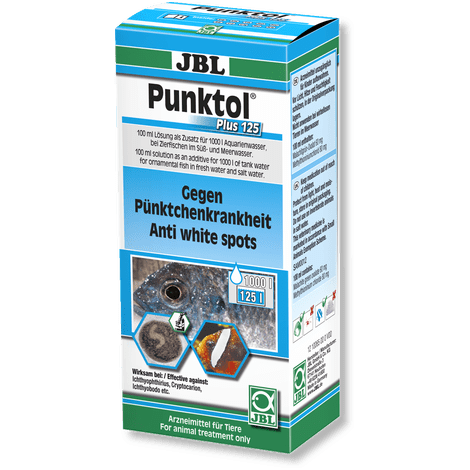 JBL Punktol Plus 125-Parasite Treatment-Lincs Aquatics Ltd