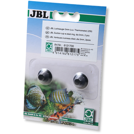 JBL suction cup with hole, 5 mm