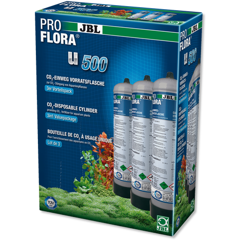 JBL ProFlora 3 x u500-CO2-Lincs Aquatics Ltd