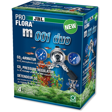 JBL ProFlora m001 duo-CO2-Lincs Aquatics Ltd