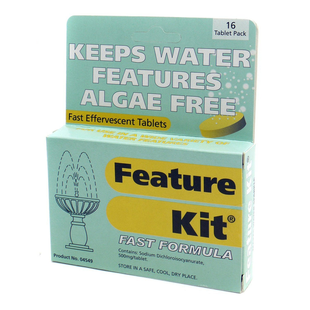 Nishikoi 1090N Algae Free Tablets 16 Pieces