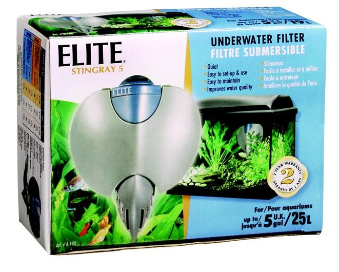 Elite Stingray 5 underwater Filter-Internal Filters-Lincs Aquatics Ltd