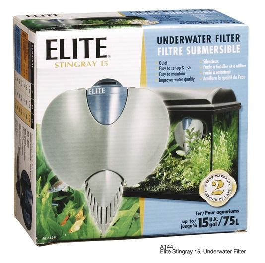 Elite Stingray Filter 15-Internal Filters-Lincs Aquatics Ltd
