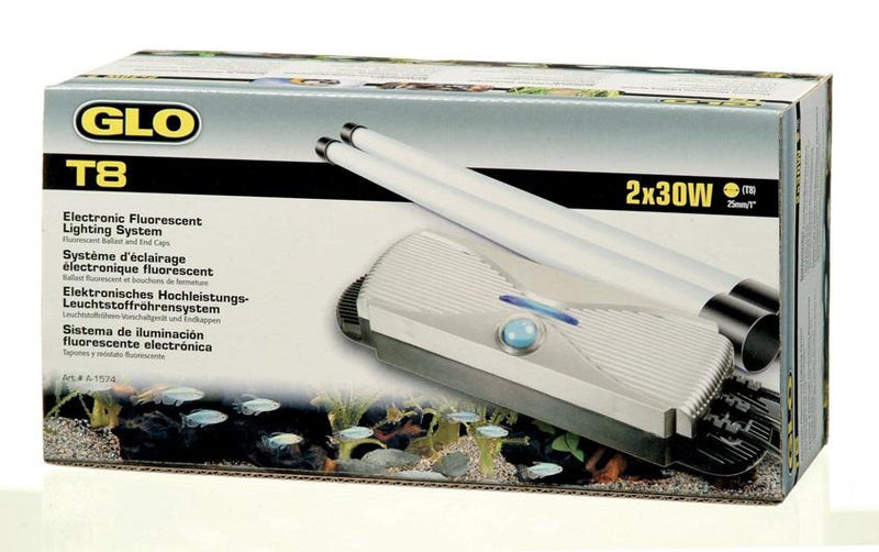 GLO T8 Electronic Fluorescent Lighting System for 2 x 30 W T8