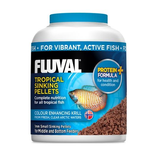 Fluval Tropical Small Sinking Fish Pellets 90g-Dried Food-Lincs Aquatics Ltd