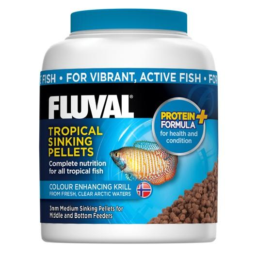 Fluval Tropical Medium Sinking Fish Pellets 150g