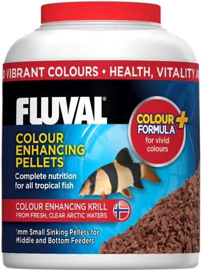 Fluval Colour Enhancing Small Sinking Pellets 90g-Dried Food-Lincs Aquatics Ltd