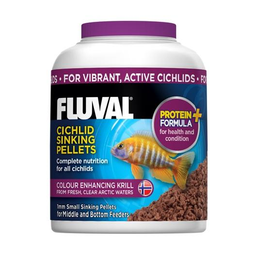 Fluval Cichlid Small Sinking Pellets 90g-Dried Food-Lincs Aquatics Ltd