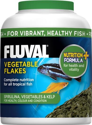 Fluval Vegetable Flakes 32g-Dried Food-Lincs Aquatics Ltd