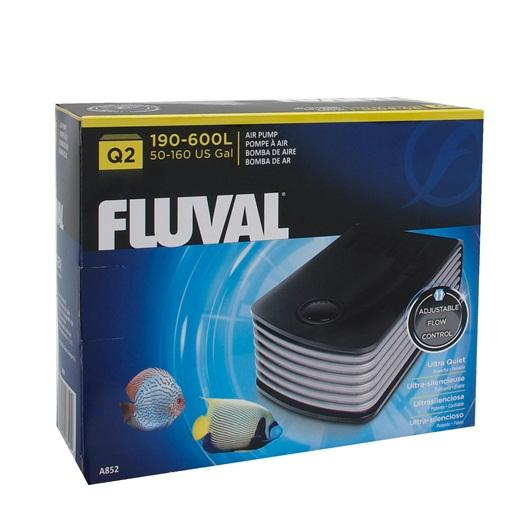 Fluval Q2 Air Pump-Aeration-Lincs Aquatics Ltd