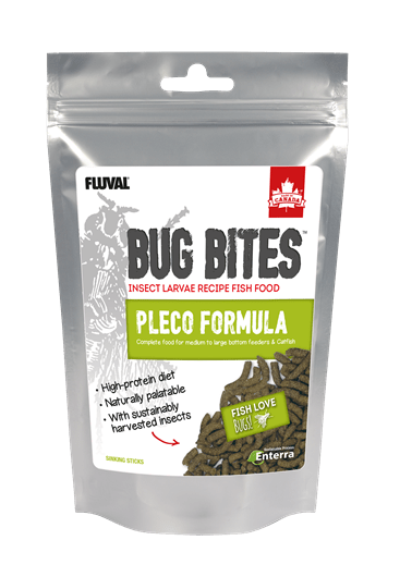 Fluval Bug Bites Pleco Sticks 130g-Dried Food-Lincs Aquatics Ltd