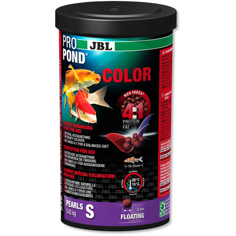 JBL PROPOND COLOR S 1.3KG-JBL Pond Food-Lincs Aquatics Ltd
