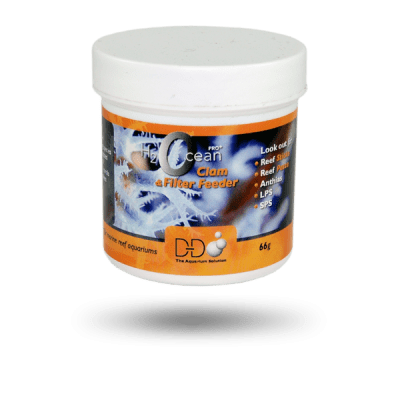 D-D H2Ocean Pro+ Clam and Filter Feeder 125ml Tub