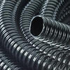 Black Flexible corrugated hose pipe 40 mm (viniflex) per metre-Lincs Aquatics Ltd