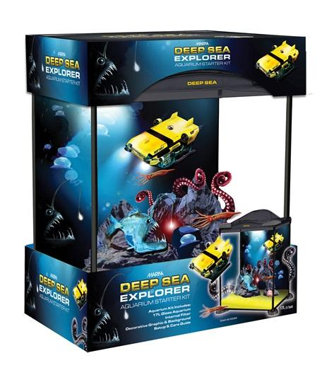 Marina Kids Deep Sea Explorer Aquarium