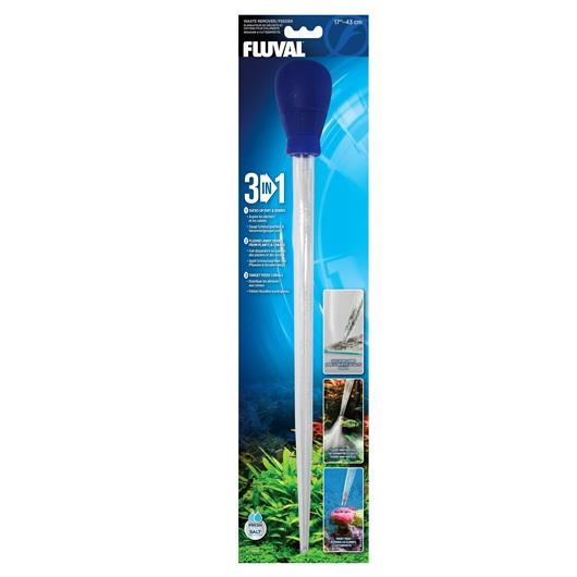 "Fluval 3-in-1 Waste Remover/ Feeder - 43 cm (17"")"