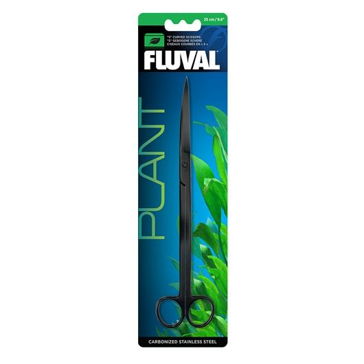 "Fluval ""S"" Curved Scissors 25 cm-Aquarium Tools-Lincs Aquatics Ltd"