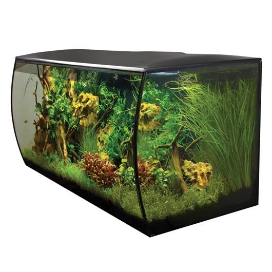 Fluval FLEX Aquarium Kit 123 L - Black-Fluval Freshwater Aquariums-Lincs Aquatics Ltd