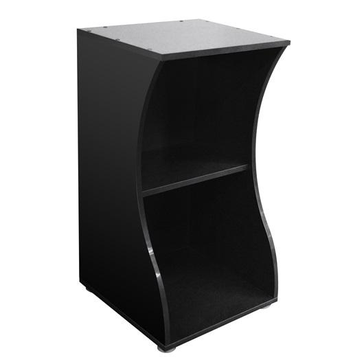 Fluval Flex 57L Aquarium Stand Black-Aquarium Cabinets-Lincs Aquatics Ltd