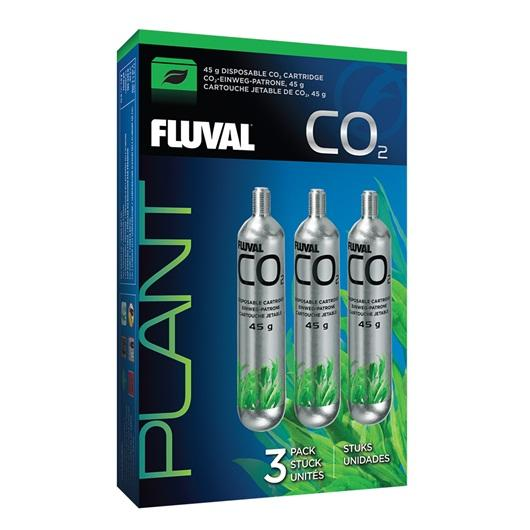 Fluval 45 g CO2 Disposable Cartridges - 3 pack-CO2-Lincs Aquatics Ltd