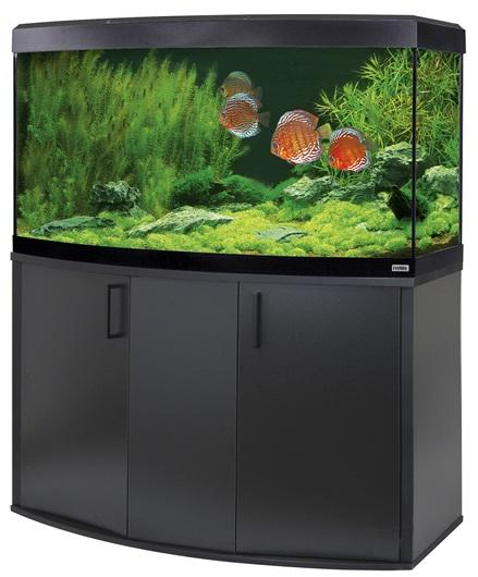 Fluval Vicenza 260 LED Aquarium and Cabinet Black