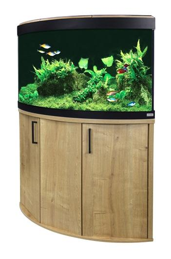 Fluval Venezia 190 NEW Bluetooth LED Aquarium and Cabinet Oak-Fluval Freshwater Aquariums-Lincs Aquatics Ltd