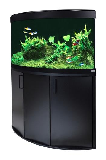 Fluval Venezia 190 LED Aquarium and Cabinet Black