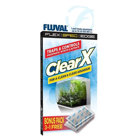 Fluval ClearX Media Insert 4 pack Spec Flex Evo