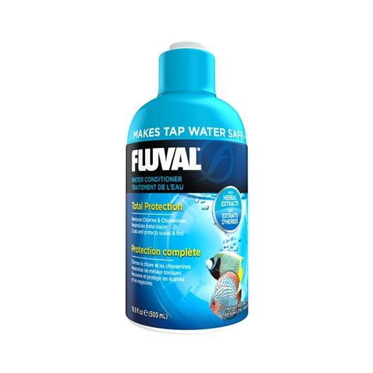 Fluval Aquaplus Water Conditioner 500ml-Dechlorinator-Lincs Aquatics Ltd