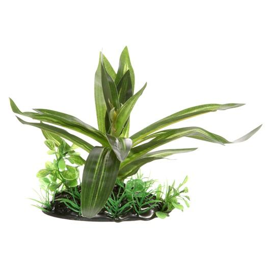 "Fluval Giant Sagittaria Plant 10 cm (4"") with base-Fake Plants-Lincs Aquatics Ltd"