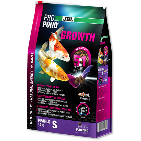 JBL PROPOND GROWTH S 1.3KG-JBL Pond Food-Lincs Aquatics Ltd