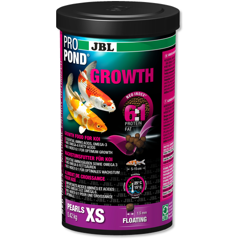JBL PROPOND GROWTH XS 1.3KG-JBL-Lincs Aquatics Ltd