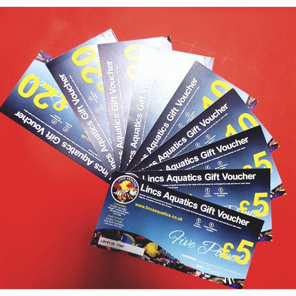Gift Vouchers-Vouchers-Lincs Aquatics Ltd