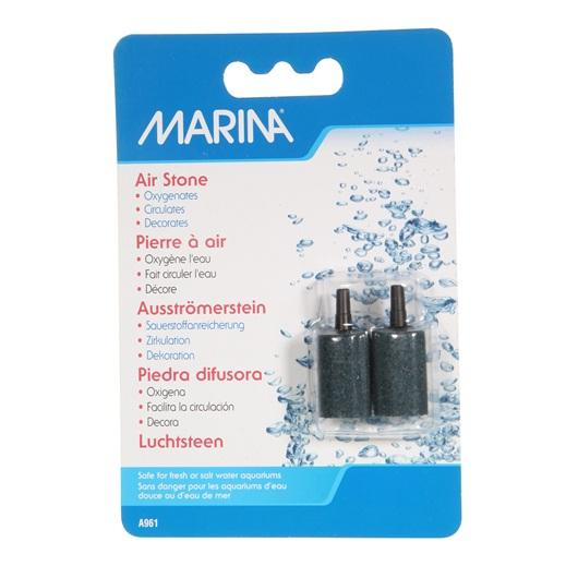 "Marina Air Stone, Cylindrical, 2.84 cm (1 1/2""), 2 pieces-Hagen-Lincs Aquatics Ltd"