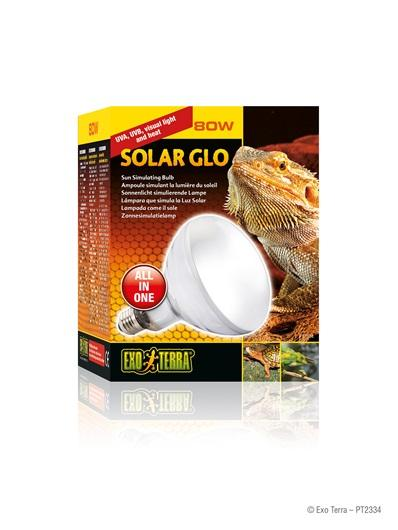 Exo Terra Solar Glo 80w Mini UV Basking Lamp